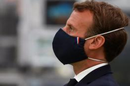 """الرئيس الفرنسي يحذّر من """"حرب أهلية"""" وانهيار اقتصادي في لبنان"""