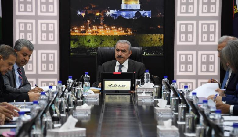 أبرز قرارات مجلس الوزراء الفلسطيني في جلسته الاسبوعية