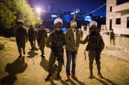 الاحتلال يعتقل 6 مواطنين من الضفة الغربية فجر اليوم