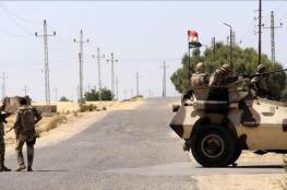 مقتل 3 عناصر من الجيش المصري في انفجار وسط سيناء