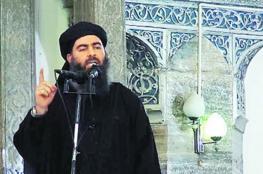 البغدادي يفر الى الأراضي السورية