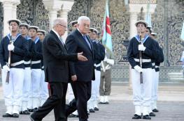 """رسالة من الرئيس عباس الى نظيره التونسي """"السبسي """""""