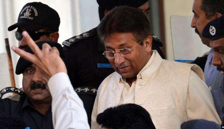 """باكستان : الحكم بالاعدام بحق رئيس الوزراء الأسبق """"برويز مشرف """""""