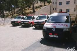 مصرع شاب بحادث سير ذاتي على طريق سردا شمال رام الله