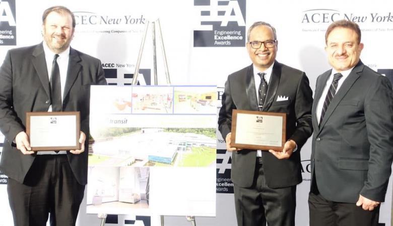 مهندس فلسطيني يفوز بأفضل تصميم معماري في ولاية نيويورك الامريكية