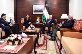الرئيس يؤكد للبرغوثي مواصلة الجهود في المحافل الدولية لإنهاء معاناة الأسرى