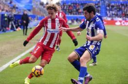 أتليتكو مدريد يسقط في فخ التعادل أمام ألافيس