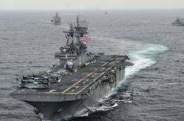 البحرية الأمريكية تدمر طائرة إيرانية مسيرة في الخليج