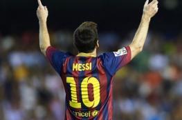 مفاجأة مدوية في عقد ميسي مع برشلونة