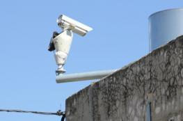 الاحتلال يشرع بنصب كاميرات على الشارع الرئيس في حوارة