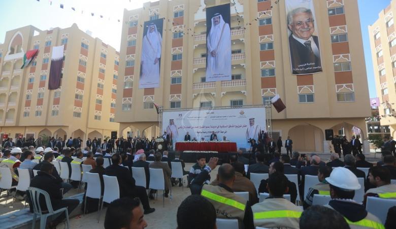 لجنة قطرية تتفقد تنفيذ مشاريع بـ407 ملايين دولار في غزة