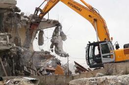 الاحتلال هدم 25 منزلاً هدم 25 وأخطر 116 بالقدس خلال الشهر الماضي