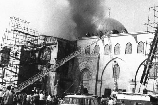 49 عاما على احراق المسجد الأقصى المبارك