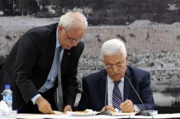 عريقات : اسرائيل دمرت وأنهت كل الاتفاقيات الموقعة