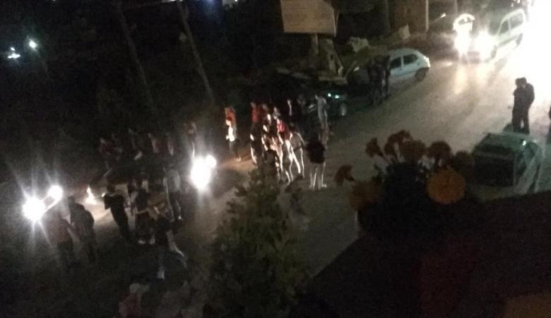 إصابة مواطنين احدهما بالرصاص الحي وآخر بالرصاص المطاطي في بورين جنوب نابلس