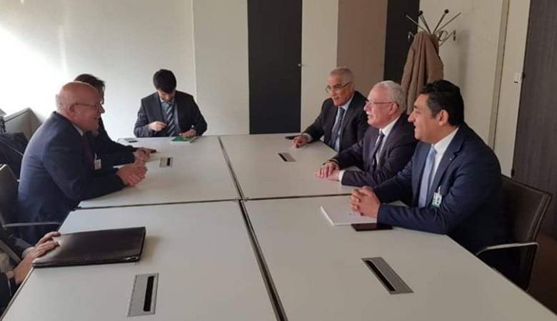 جنيف: المالكي يطلع مسؤولين دوليين على آخر المستجدات في فلسطين