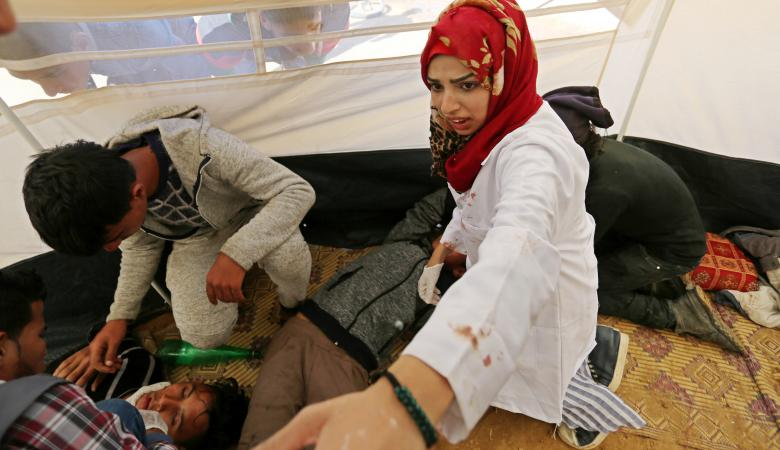 """عامٌ على استشهاد المسعفة الفلسطينية """"رزان النجار """""""