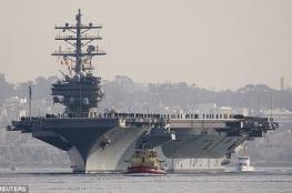 واشنطن ترسل حاملة طائرات نووية الى السواحل الكورية
