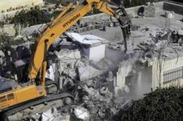 قوات الاحتلال تهدم بناية سكنية في القدس