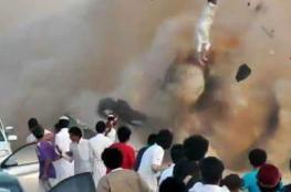 فيديو مروع للحظة وفاة أشهر مفحط بالسعودية