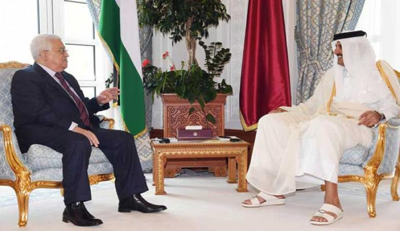 الكشف عن تفاصيل زيارة الرئيس عباس لقطر
