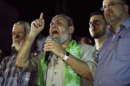 الزهار : حماس لن تخضع لكائن من كان ولن نعترف باسرائيل