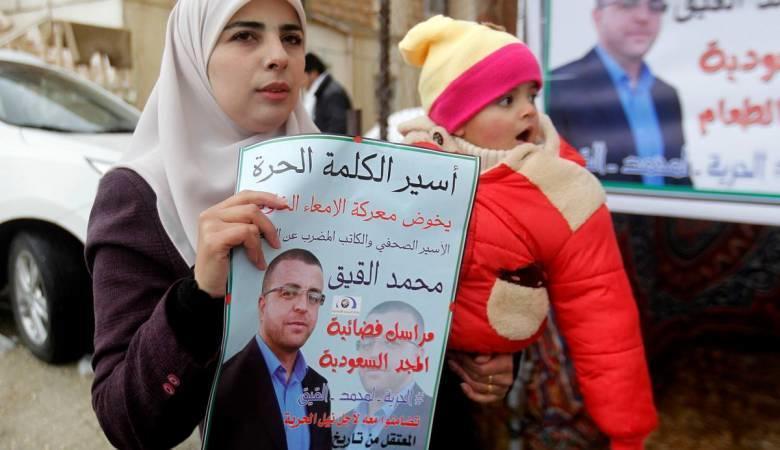 عائلة القيق توافق على علاجه في مستشفى المقاصد