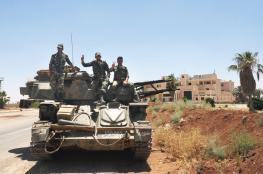 """المئات من مقاتلي المعارضة السورية يغادرون """"درعا """""""
