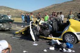 المرور: 257 حادث سير بالضفة الأسبوع الماضي