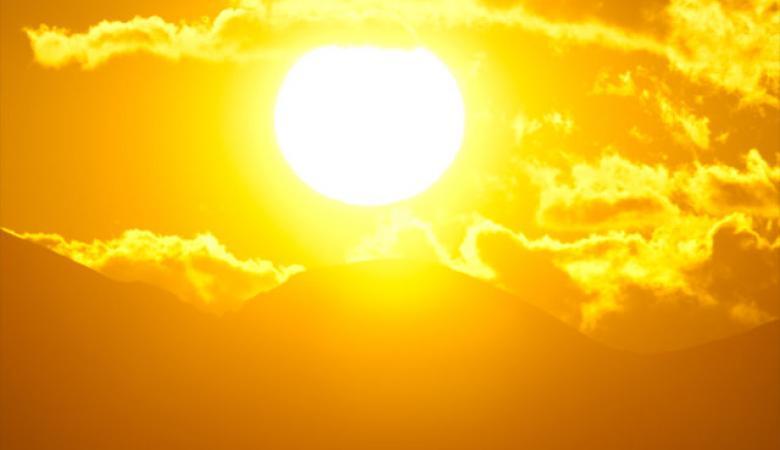 حالة الطقس : اجواء شديدة الحرارة