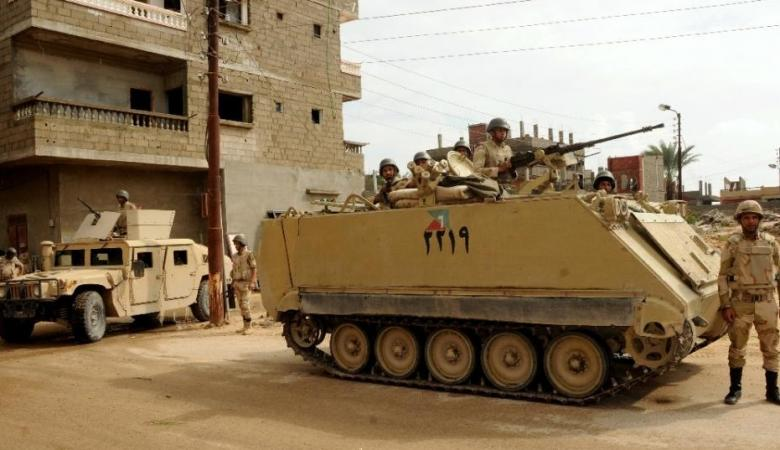 """مصر تعلن مقتل 16 شخصاً من """"الارهابيين """" في سيناء"""