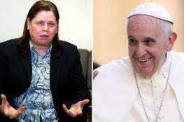 زوجة البرغوثي تناشد البابا التدخل لإنقاذ المضربين