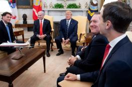 الادارة الامريكية تعقد اجتماعاً حاسماً بشان خطة الضم