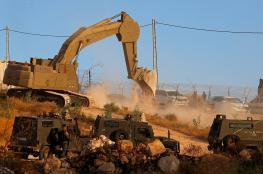 الاحتلال يخطر بهدم منزل في رام الله