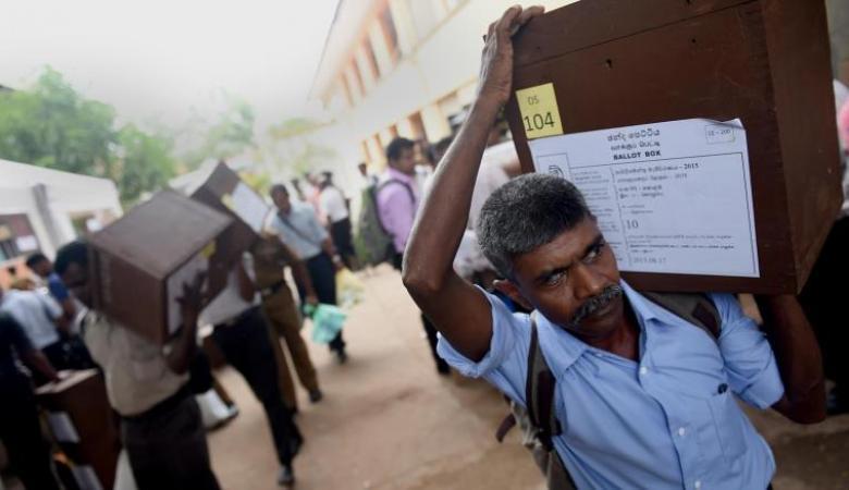 بدء التصويت في الانتخابات الرئاسية بسريلانكا