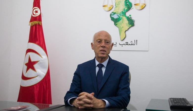 """الرئيس التونسي:""""سأبقى بجانب الفلسطينيين حتى ينالوا حريتهم """""""