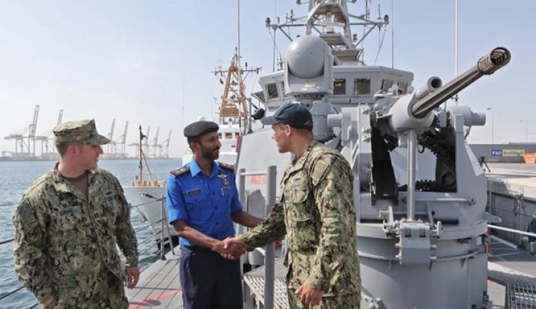 تدريبات بحرية مشتركة بين قطر وبريطانيا