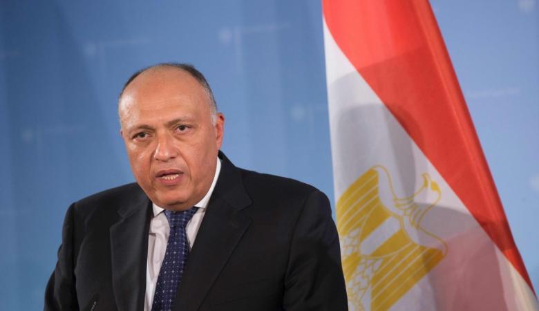 مصر تشدد على دعمها لحل الدولتين لتسوية الصراع الفلسطيني الاسرائيلي