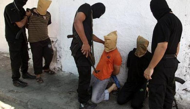 القبض على مجموعة من العملاء في غزة بحملة امنية كبيرة