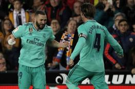 ريال مدريد يكتفي بالتعادل مع فالنسيا