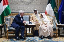 أمير الكويت يجدد دعمه لفلسطين