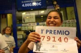"""لاجئ قدم بالقراب الى اسبانيا فربح  من اليانصيب مبلغ """" 440 الف دولار """""""
