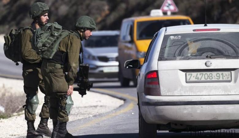 جيش الاحتلال يبدا بفرض مخالفات سير على الفلسطينيين