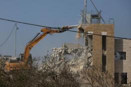 الاحتلال يحطر بهدم منزلين جنوب بيت لحم