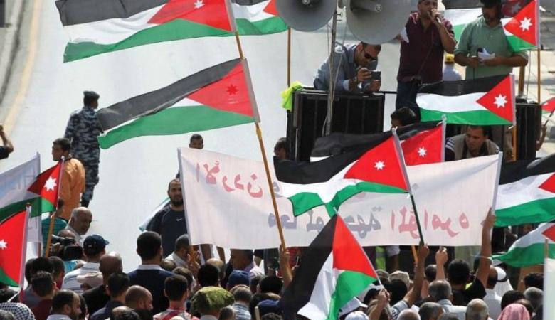 """واشنطن : توطين الفلسطينيين في الاردن """"اشاعات """""""