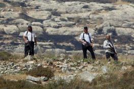 المستوطنون يواصلون هجماتهم على قرية برقة شمال نابلس