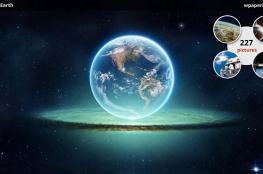 العلماء يكتشفون كوكب شبيه بالكرة الأرضية ومناسب للعيش فيه