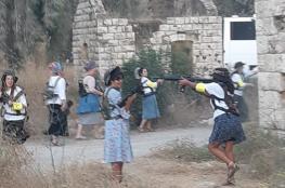 المستوطنون يتدربون على السلاح بين نابلس وجنين