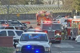 اصابة 11 شخصا في قاعدة للمارينز بعد فتح خطاب مشبوه بفرجينيا الامريكية