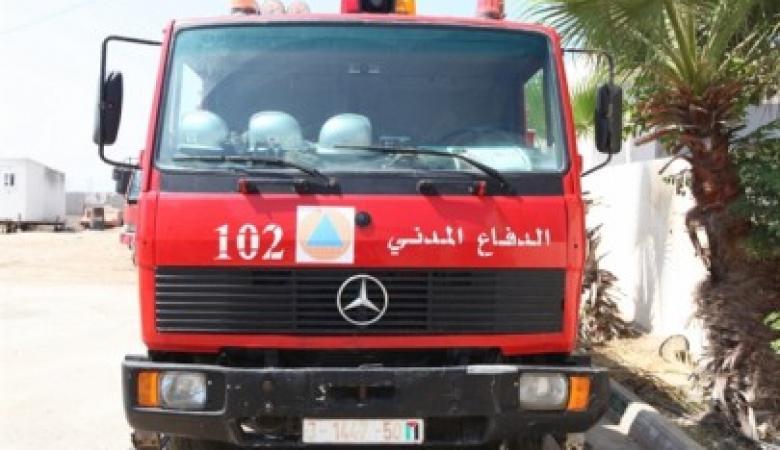 3389 حادث إطفاء وإنقاذ خلال مايو بالضفة الغربية